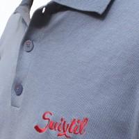 Suixtil Targa Pima Polo blue detail
