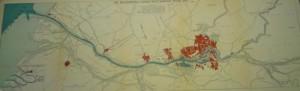 kaart waterweg Rotterdam